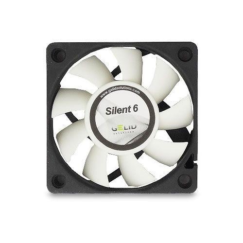 Gelid Solutions Silent 6 60 x 15 mm Quiet Case Fan