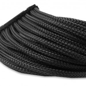 Gelid Black Braided 24 pin to 24 pin ATX Extension