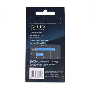 "NEW! ""Gelid"" GP Extreme Thermal Pad 0.5mm Thick"