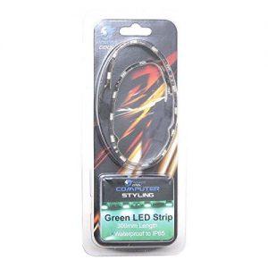 Powercool 30cm LED Strip - Green