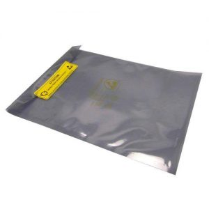 100 x SHL Brand Antistatic Metallic Shielding bag 5 x 8 inch (13 x 20.5 cm) with 100 labels