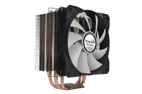 GELID SOLUTIONS TRANQUILLO 4 CPU 4 heatpipes cooler 775/1150/1155/1566/1366 and AM2 AM3 AM4 Opteron